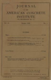 Journal of the American Concrete Institute, Vol. 16, No. 3