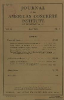 Journal of the American Concrete Institute, Vol. 16, No. 5