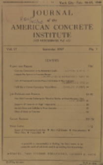 Journal of the American Concrete Institute, Vol. 17, No. 1