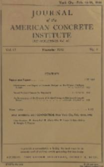 Journal of the American Concrete Institute, Vol. 17, No. 2