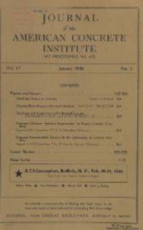 Journal of the American Concrete Institute, Vol. 17, No. 3