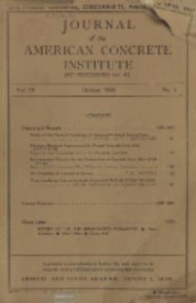 Journal of the American Concrete Institute, Vol. 18, No. 2