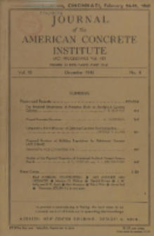 Journal of the American Concrete Institute, Vol. 18, No. 4, Part 1