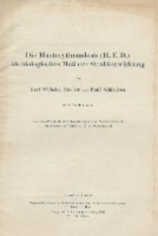 Die Hauterythemdosis (H.E.D.) als biologisches Maß der Strahlenwirkung