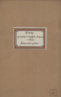 Mechanika ogólna : katalog egzaminów z 1929/1930