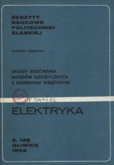 Układy sterowania napędów elektrycznych z elementami sprężystymi