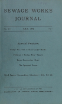 Sewage Works Journal, Vol. 14, No. 4