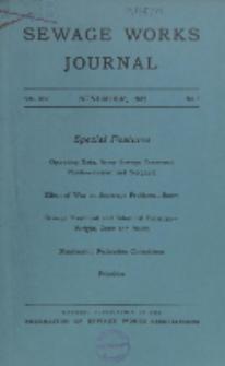 Sewage Works Journal, Vol. 14, No. 6