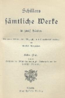 Schillers sämtliche Werke in zwölf Bänden : mit einem Bildnis, einer Biographie und Charakteristik Schillers. Bd. 8