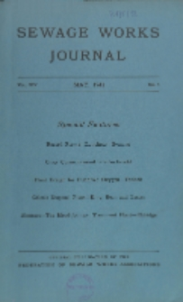 Sewage Works Journal, Vol. 14, No. 3