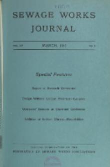 Sewage Works Journal, Vol. 15, No. 2