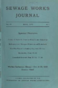 Sewage Works Journal, Vol. 15, No. 3