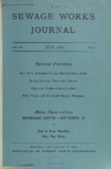 Sewage Works Journal, Vol. 15, No. 4