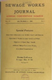 Sewage Works Journal, Vol. 15, No. 5