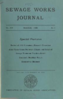 Sewage Works Journal, Vol. 16, No. 2
