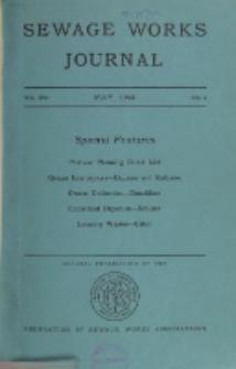 Sewage Works Journal, Vol. 16, No. 3