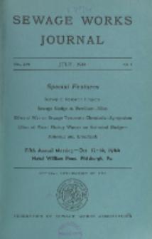 Sewage Works Journal, Vol. 16, No. 4