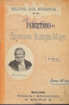 Pamiętniki Szymona Konopackiego. T. 2