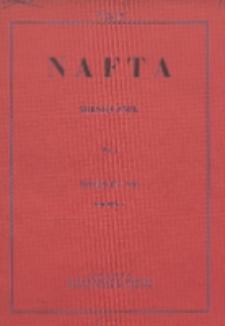Nafta : miesięcznik poświęcony nauce, technice, statystyce oraz organizacji w polskim przemyśle naftowym, R. 1, Nr 4