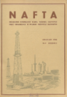 Nafta : miesięcznik poświęcony nauce, technice, statystyce oraz organizacji w polskim przemyśle naftowym, R. 2, Nr 4