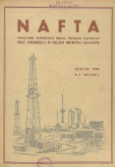 Nafta : miesięcznik poświęcony nauce, technice, statystyce oraz organizacji w polskim przemyśle naftowym, R. 2, Nr 8