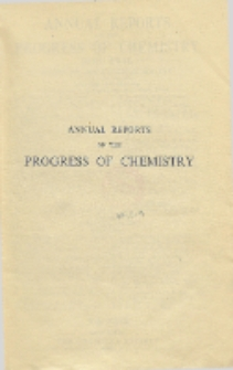 Annual Reports on the Progress of Chemistry for 1946