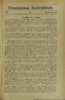 Chemisches Zentralblatt : vollständiges Repertorium für alle Zweige der reinen und angewandten Chemie, Jg. 118, Erg.-Bd. 1, Nr. 3