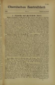 Chemisches Zentralblatt : vollständiges Repertorium für alle Zweige der reinen und angewandten Chemie, Jg. 118, Erg.-Bd. 1, Nr. 4