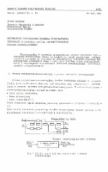 Wspomaganie nowoczesnymi środkami przetwarzania informacji w typizacji metodą zidentyfikowanego procesu konstrukcyjnego