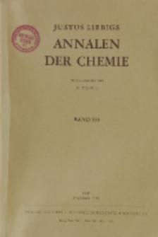 Justus Liebigs Annalen der Chemie. Band 558