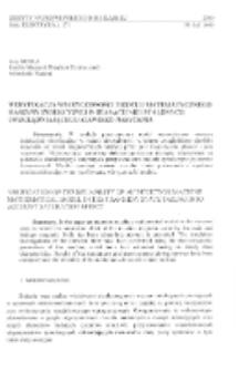 Weryfikacja wiarygodności modelu matematycznego maszyny indukcyjnej w stanach nieustalonych uwzględniającego zjawisko nasycenia