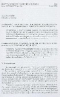 Złożoność obliczeniowa problemu szeregowania zadań w cylindrycznym systemie przepływowym