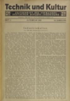 Technik und Kultur : Zeitschrift des Verbandes Deutscher Diplom-Ingenieure, Jg.16, H. 2