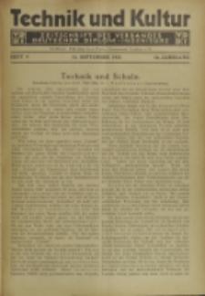 Technik und Kultur : Zeitschrift des Verbandes Deutscher Diplom-Ingenieure, Jg.16, H. 9