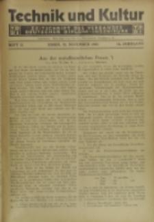 Technik und Kultur : Zeitschrift des Verbandes Deutscher Diplom-Ingenieure, Jg.16, H. 11