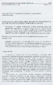 Wyznaczanie harmonogramów przebiegów przejściowych dla wieloasortymentowej produkcji rytmicznej