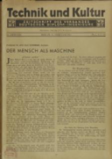 Technik und Kultur : Zeitschrift des Verbandes Deutscher Diplom-Ingenieure, Jg. 22, Nr 2