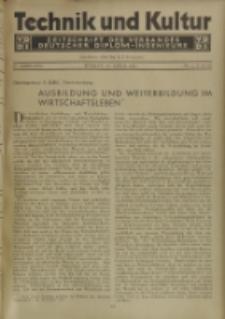 Technik und Kultur : Zeitschrift des Verbandes Deutscher Diplom-Ingenieure, Jg. 22, Nr 4