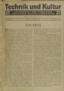 Technik und Kultur : Zeitschrift des Verbandes Deutscher Diplom-Ingenieure, Jg. 22, Nr 6