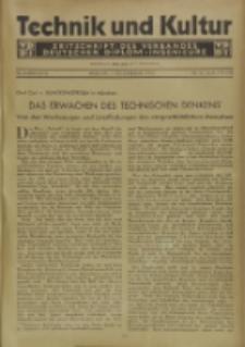 Technik und Kultur : Zeitschrift des Verbandes Deutscher Diplom-Ingenieure, Jg. 22, Nr 10