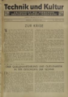 Technik und Kultur : Zeitschrift des Verbandes Deutscher Diplom-Ingenieure, Jg. 22, Nr 7