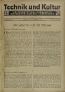 Technik und Kultur : Zeitschrift des Verbandes Deutscher Diplom-Ingenieure, Jg. 22, Nr 8