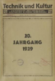Technik und Kultur : Zeitschrift des Verbandes Deutscher Diplom-Ingenieure, Jg. 20, H. 1