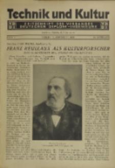 Technik und Kultur : Zeitschrift des Verbandes Deutscher Diplom-Ingenieure, Jg. 20, H. 9