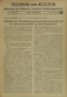 Technik und Kultur : Zeitschrift des Verbandes Deutscher Diplom-Ingenieure, Jg. 26, Nr 3