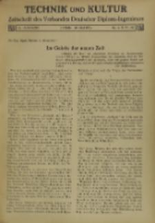 Technik und Kultur : Zeitschrift des Verbandes Deutscher Diplom-Ingenieure, Jg. 26, Nr 5