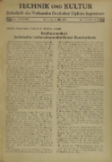 Technik und Kultur : Zeitschrift des Verbandes Deutscher Diplom-Ingenieure, Jg. 26, Nr 7