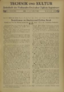 Technik und Kultur : Zeitschrift des Verbandes Deutscher Diplom-Ingenieure, Jg. 26, Nr 8