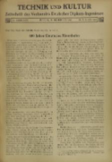 Technik und Kultur : Zeitschrift des Verbandes Deutscher Diplom-Ingenieure, Jg. 26, Nr 9