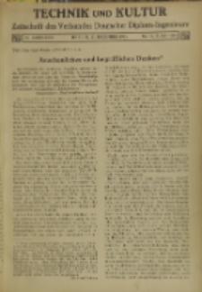 Technik und Kultur : Zeitschrift des Verbandes Deutscher Diplom-Ingenieure, Jg. 26, Nr 12